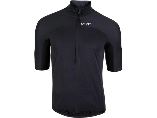 UYN Biking Alpha OW SS Rain Jacket Men, black/raven